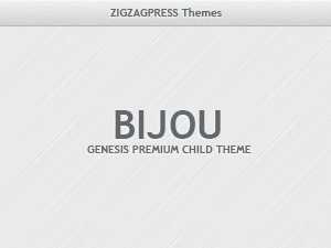 Bijou best WordPress theme