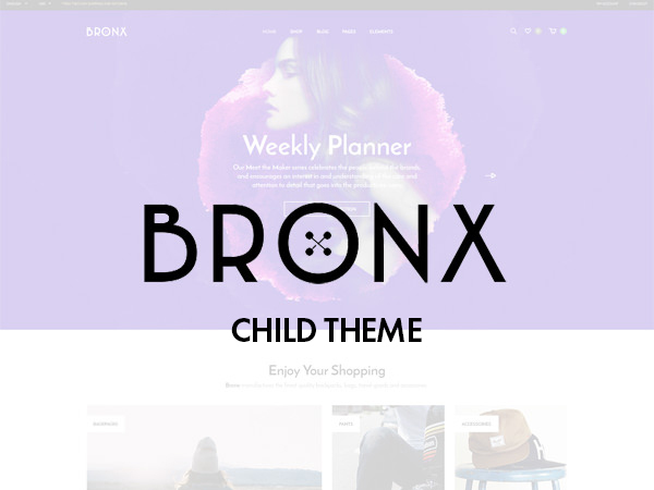 Bronx Child Theme template WordPress