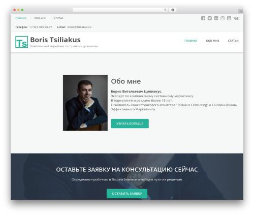 Emmet Lite free WP theme - tsiliakus.ru