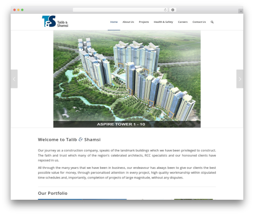 Enfold theme WordPress - talibshamsi.com