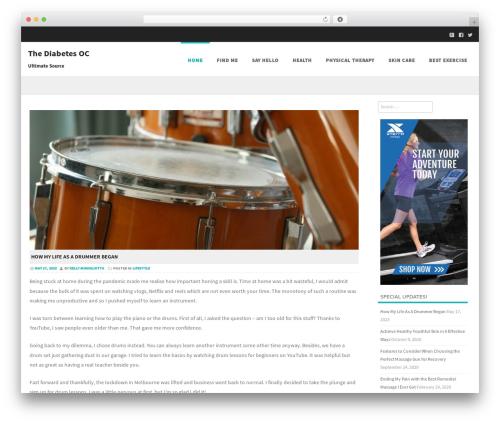 Formation best free WordPress theme - thediabetesoc.com