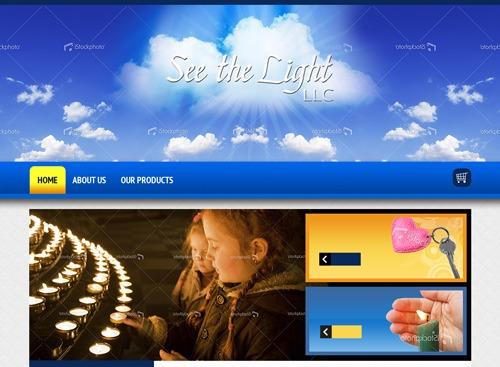 See_The_Light WordPress theme