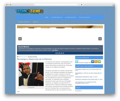 Template WordPress Apris - technotiempo.com