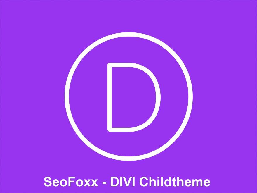 WordPress template Divi Child Theme