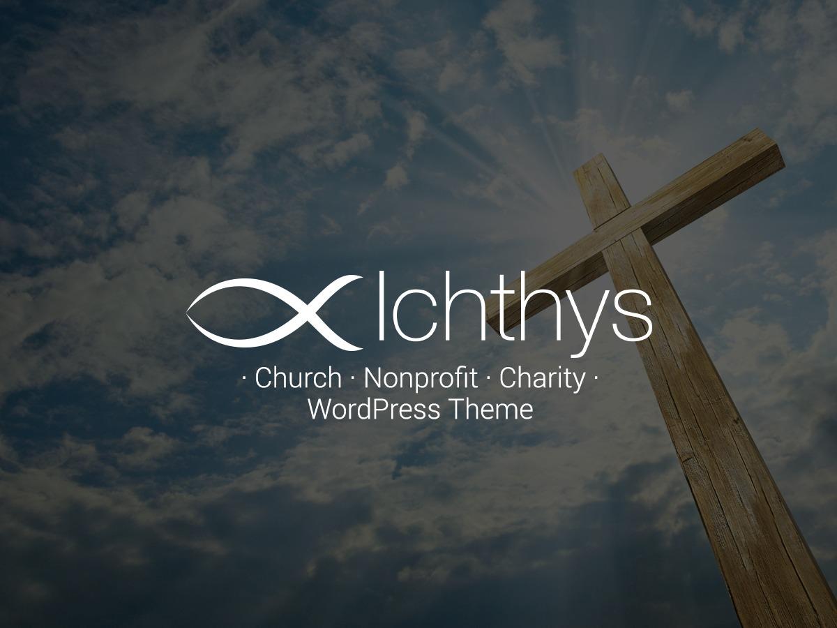 WordPress template Ichthys