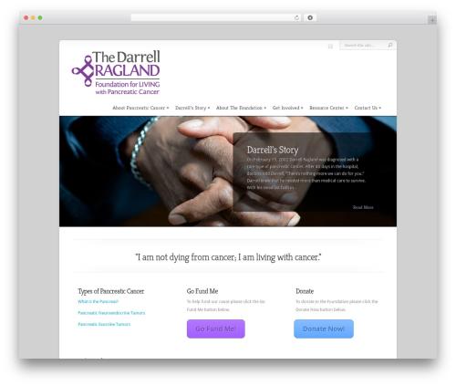 WordPress theme Chameleon - thedarrellraglandfoundation.org