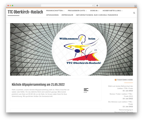 WordPress theme Customizr - ttc-oberkirch-haslach.de