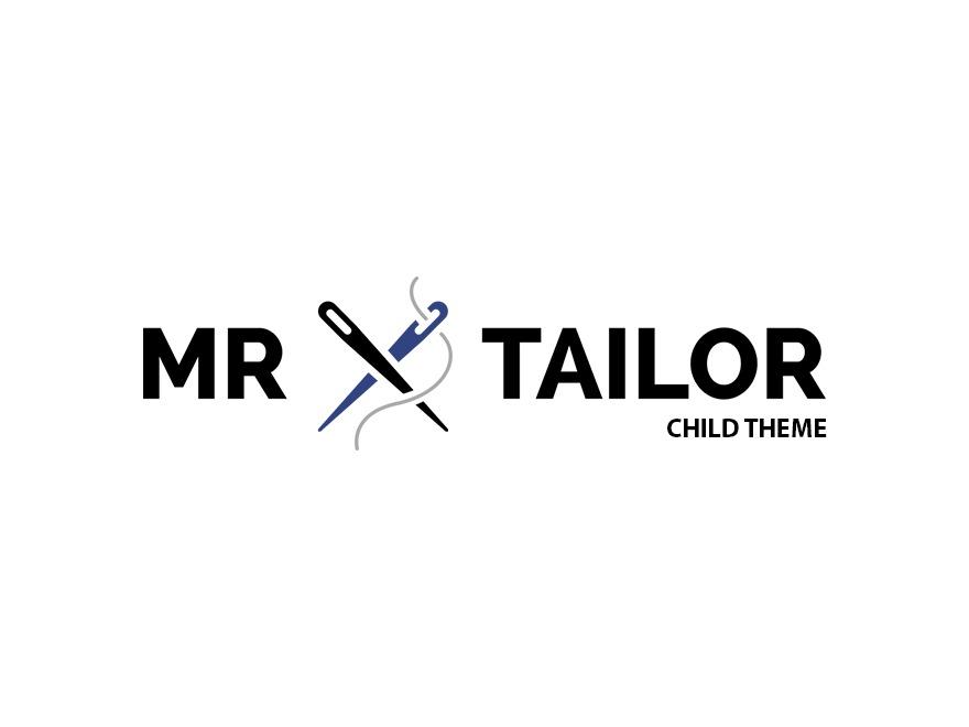 WordPress theme Mr. Tailor Child MWisy