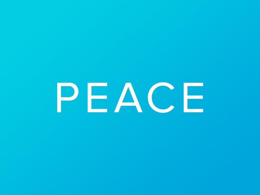 WP template Peace Child Theme