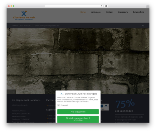 WP template Trades - tm-itsystems.de