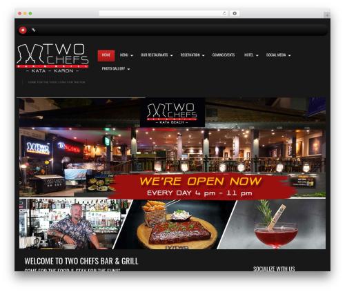 WP theme cherry - twochefs.com