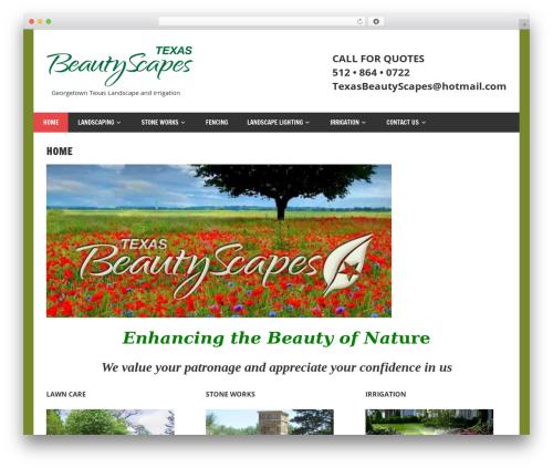 Free WordPress MetaSlider plugin - texasbeautyscapes.com