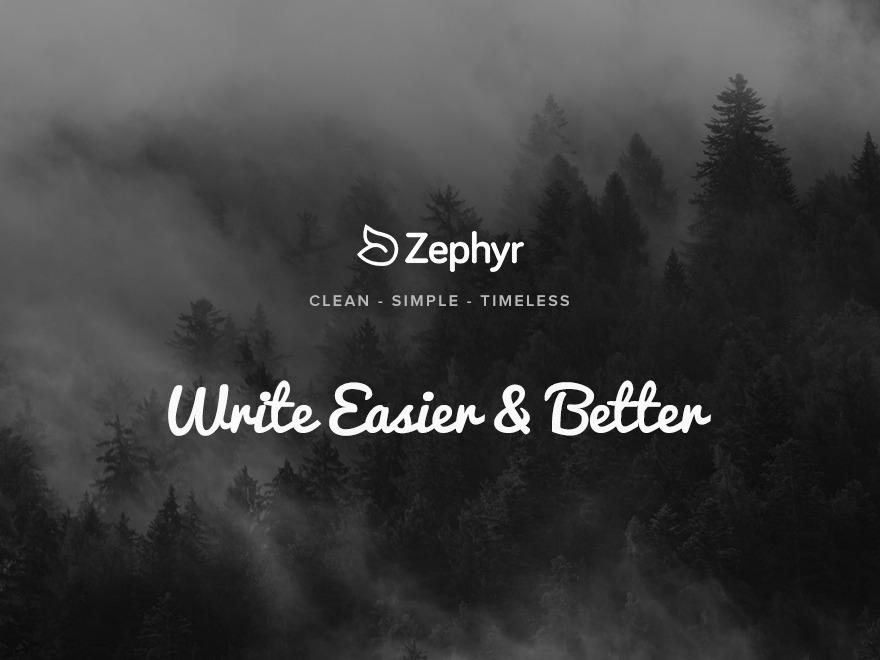 zephyr-child WordPress theme