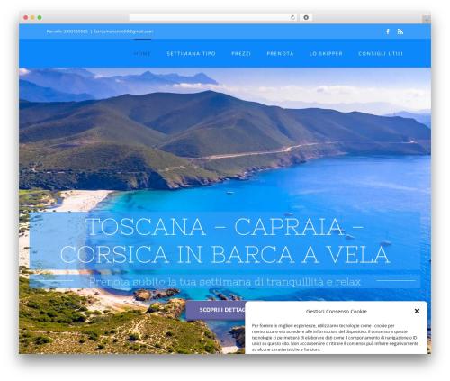 Avada template WordPress - vacanze-barcavela.com