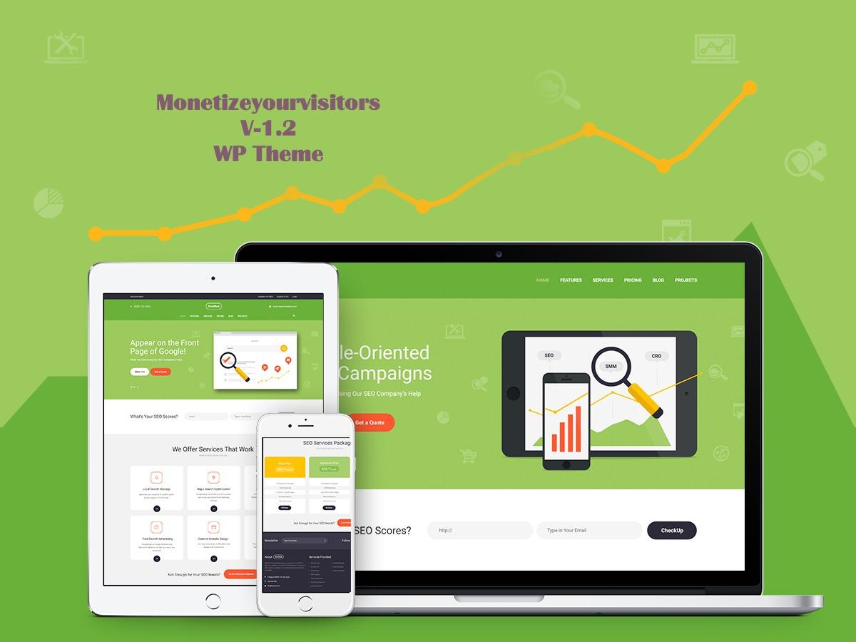SeoHub WordPress template by AncoraThemes