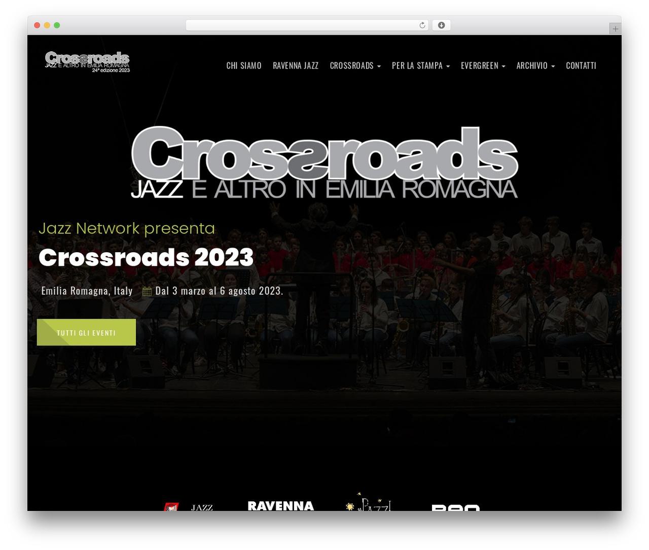 Emeet best WordPress theme - crossroads-it.org