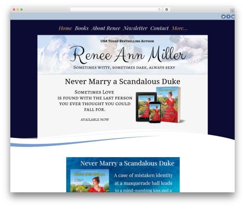 Longevity theme WordPress free - reneeannmiller.com