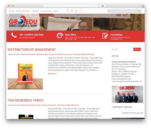 Sanitorium WordPress theme free download - konsultanmanajemenautopilot.com