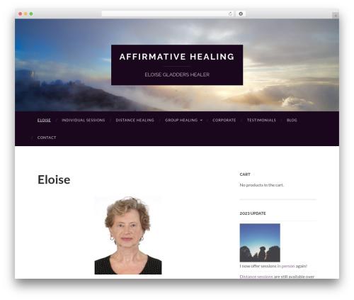 Hemingway free WP theme - eloisegladders-healer.com