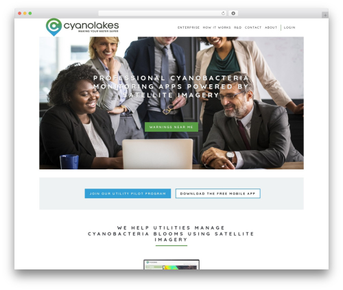 WordPress template Stockholm - cyanolakes.com