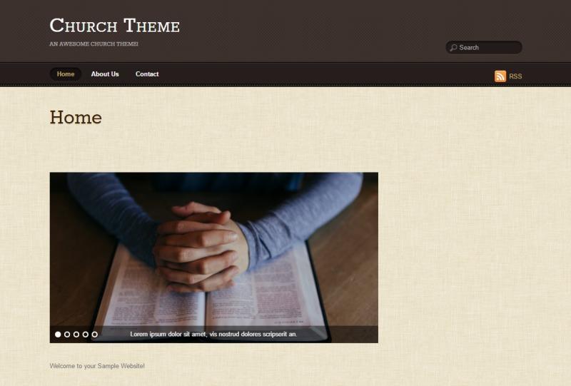 WordPress theme Suco