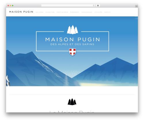 Avada WordPress template - maisonpugin.com