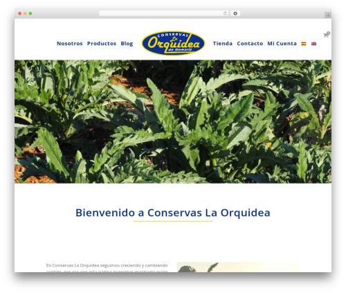 WP theme Bridge - conservasorquidea.com
