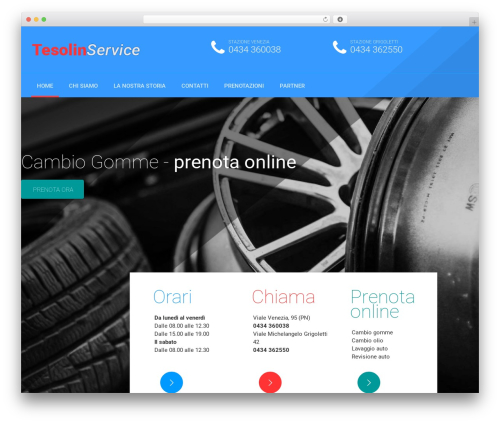 AutoRepair WordPress theme - tesolinservice.com