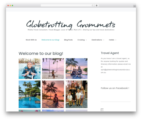 Best WordPress theme Carbis - globetrottinggrommets.com