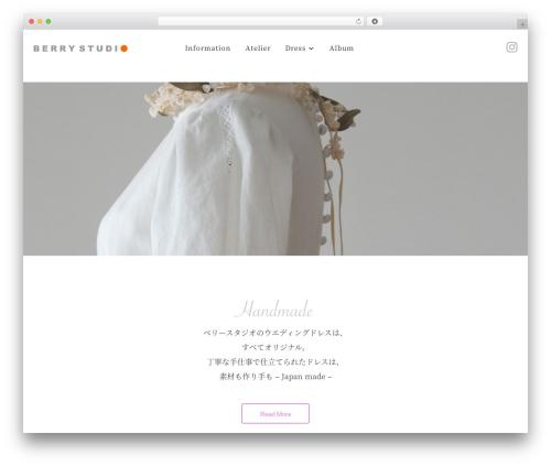 Theme WordPress Balance - berry-studio.net