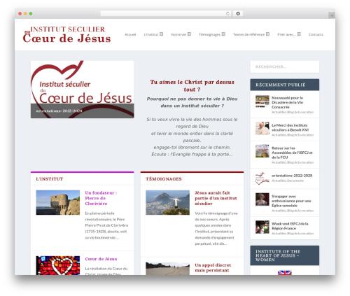 Theme WordPress Extra - isfcj.com