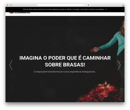 AccessPress Parallax WordPress theme - firewalkingportugal.com