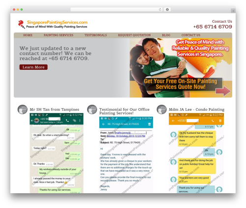 Augustus WP theme - singaporepaintingservices.com