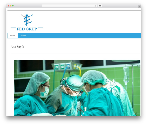 health-center-lite free WordPress theme - fedgrup.com