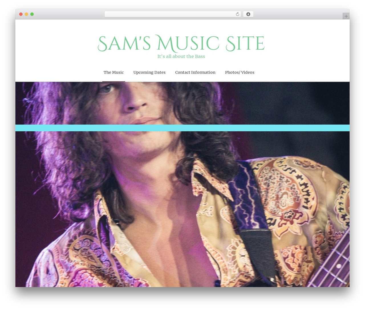 WordPress website template ZenLife - samlucid.net