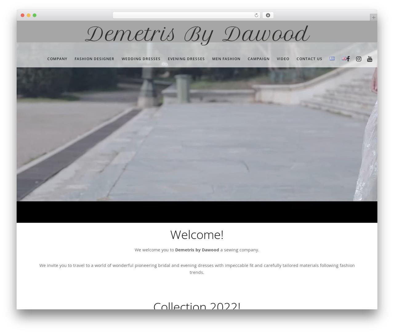 Movedo WordPress theme - dawoodfashion.com