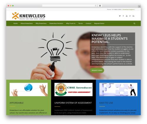 WordPress website template Enfold - knewcleus.com