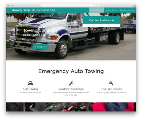 Cityscape best WordPress theme - readytowtruck.com