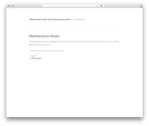 Free WordPress Easy Affiliate Links plugin - teresabeeman.com
