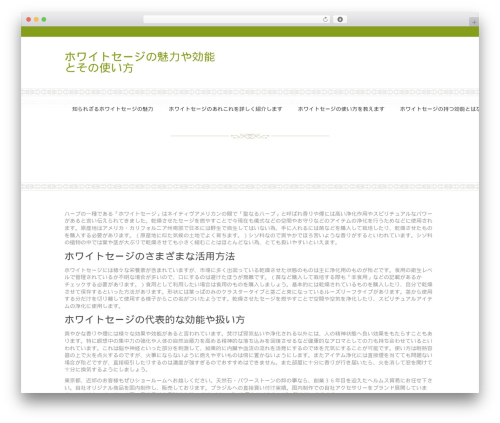 Best WordPress theme Onsen - twompsonp.com