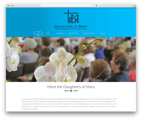 Best WordPress theme SpaLab - thedaughtersofmary.org