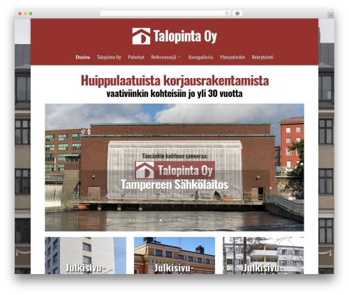 Free WordPress News Manager plugin - talopinta.fi