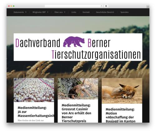 Garfunkel WordPress theme - tierschutzkantonbern.ch
