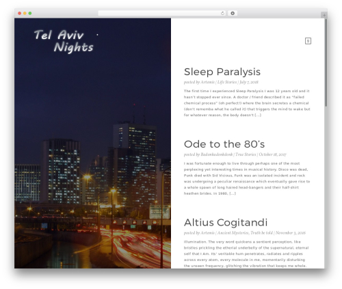 Moment WordPress template free download - telavivnights.com