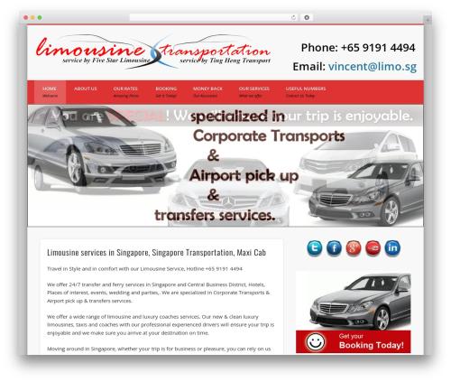 Pinboard WordPress theme - transportation.com.sg