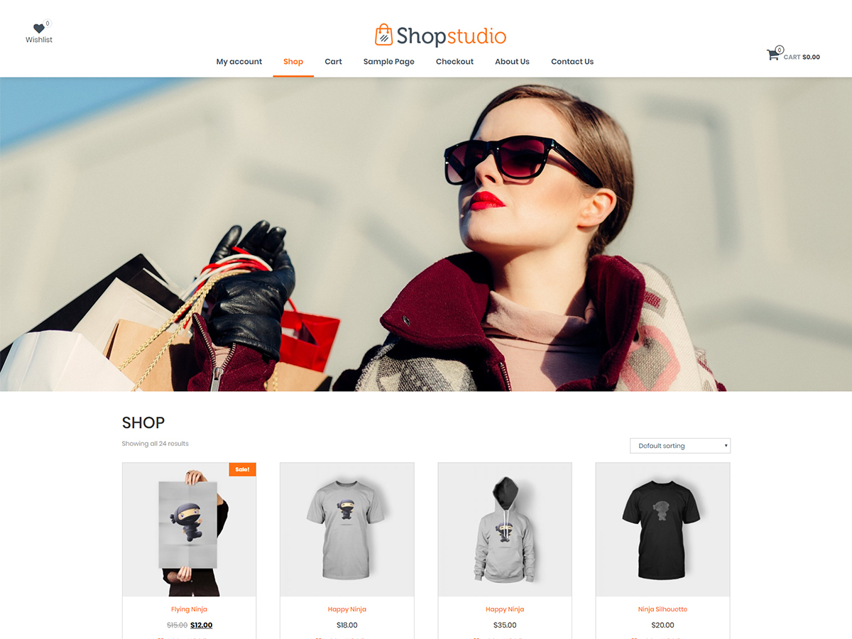 shopstudio WordPress shop theme