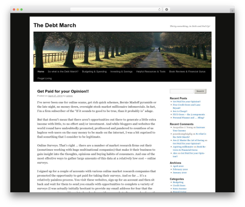 Free WordPress Cookies for Comments plugin - thedebtmarch.com