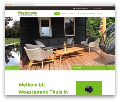 Woestenenk Thuis in Tuinen WordPress theme design - thuisintuinen.com