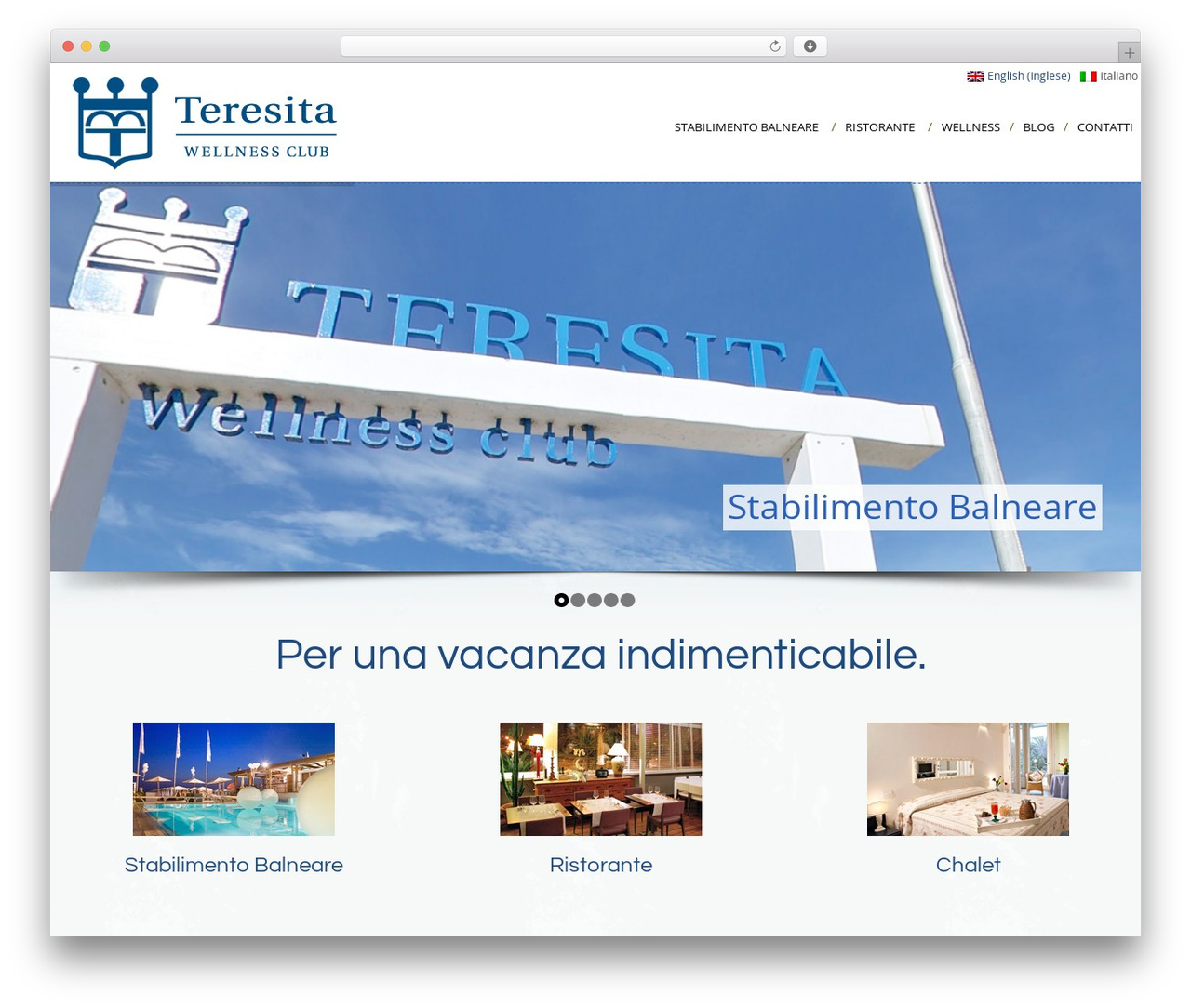 WordPress template Cream - teresita.it