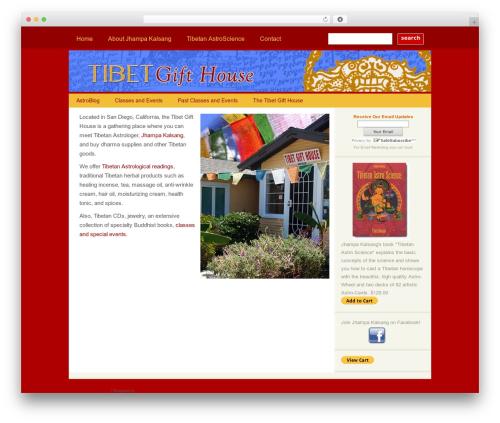 WordPress theme PureType - tibetanastroscience.com